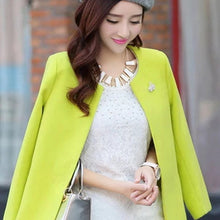 Fashion Round Neck Long Sleeve Women Coats S-XXL Solid Color Casaco Feminino Loose Cardigan 2017 Autumn Slim Thin Outerwear