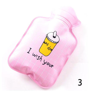 Hot Water Bottle PVC Rubber Hot Water Bag Hand Warming Water Bottles Winter Hot Water Bags Bottle #45