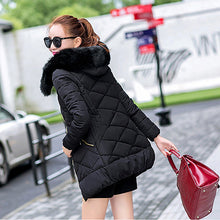 LIVA GIRL Winter Jacket Women Hot 2017 New Park Long Female Jacket Thick Coat High Quality Warm Women's Winter Coats WJN104
