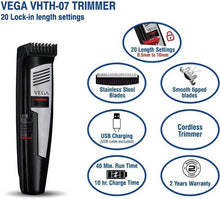 VEGA VHTH-07 T-Comfort  Hair Trimmer for Men with 20 Blade Settings