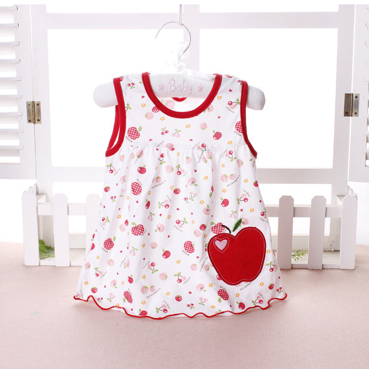 83c99a2a4313 ... Top Quality Baby Dresses 2018 Princess 0-1years Girls Dress Cotton  Clothing Dress Summer Girls ...