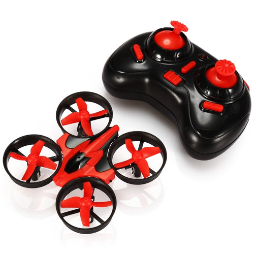 In Stock NH - 010 Mini Drone 2.4G 4CH 6 Axis 3D Headless Mode Memory Function RC Quadcopter RTF RC Tiny Gift VS Eachine E010