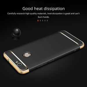 For Huawei Nova Case, TOPK Premium Plating Anti-Knock Smooth Hard Plastic Protective Phone Case for Huawei Nova