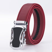 New Arrival Famous Jaguar Design Brand Luxury Belts Women Men Red Belts Male Waist Strap Automatic Buckle Genuine Leather belt