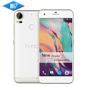"New Original HTC Desire 10 Pro 4GB RAM 64GB ROM 4G LTE Fingerprint Octa Core Android 6.0 Dual SIM 20MP 5.5"" 3000mAh Mobile phone"