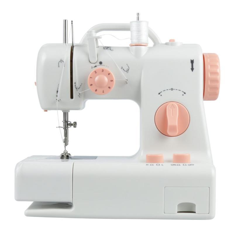Mini Sewing Machines Dual Speed Double Thread Multifunction US EU UK Electric Sewing Machine #15