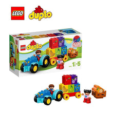 LEGO Duplo My First Tractor Architecture Building Blocks Model Kit Plate Educational Toys For Children L10615