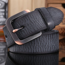 vintage belts for mens women luxury 100% real high quality full grain genuine leather 2018 jeans brown cowboy casual 3.8 cm gray