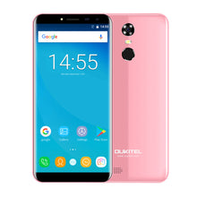 "Oukitel C8 5.5""HD 18:9 Infinity Display Android 7.0 2GB RAM 16GB ROM MTK6580A Quad Core Fingerprint 13MP 3000mAh Mobile Phone"