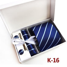 2017 New Arrival Silk Striped Men Ties Neck tie set Woven Formal wear business wedding party Classic hombre gravatas K16