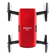 GoolRC T47 6-Axis Gyro WIFI FPV 720P HD Camera Drone Quadcopter Foldable Mini G-sensor RC Selfie Drone RTF Quad Toys New