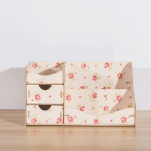 New Wooden Cosmetic Organizer Home Makeup Organizer Wood Desktop Storage Box for Cosmetics Organizer for the Office