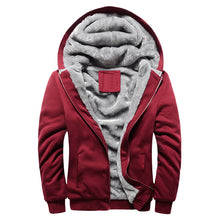 Hoodies Sweatshirt Men 2018 New Autumn Winter Warm Thick Solid Casual Brand Tracksuit Men's Sweatshirts Hooded Plus Size 5XL