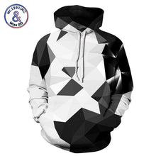 Mr.1991INC Fashion 3d Hooded sweatshirt Colorful triangle combination print Men/Women Space Galaxy pullover Hoodies Sweatshirts