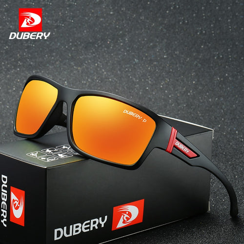 e58b602d40f DUBERY Polarized Sunglasses Men s Aviation Driving Shades Male Sun Glasses  For Men Safety 2017 Luxury Brand