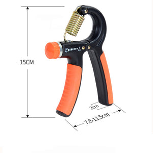Plastic Adjustable Hand Grip Fitness Pinch Meter Portable Hand Expander Hand Gripper Exerciser Tool