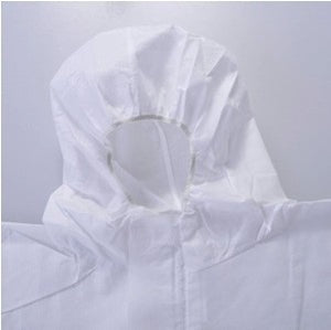 3M 4510 Safety Clothing Chemical Disposable Protective Coverall Hooded Suit Anti Particles/Limited Liquid Chemical splash LT074