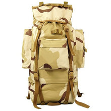 70 L Metal Bracket Backpack Outdoor Sports Bag Military Tactical Bags Hiking Camping Waterproof  Wear-resisting Nylon Bag D033