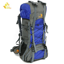 Free Knight Extra Large 60L Nylon Waterproof Mountaineering Backpack Outdoor Sport Climbing Hiking Traveling Picnic Bag Rucksack