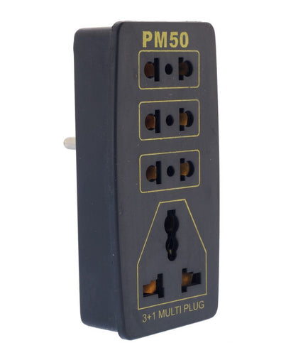 PM50 5 Amp 3+1 Pin Multi Plug Sockets