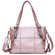 HOT women bag Lady Top-handle bags handbags women famous brands female Stitching casual Big shoulder bag Soft Tote for girls SAC