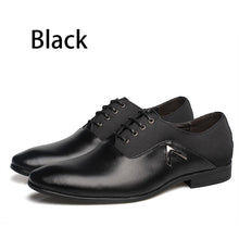 Plus Size 6.5-12 Formal Leather Men Dress Shoes Elegant Design Quality Brand Mens Business Basic Casual Oxfords Imported Shoes