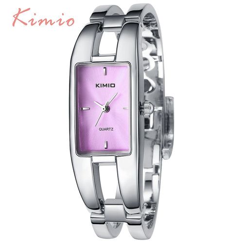 KIMIO Rectangle Hand Ring Bracelet Woman's Watch Ladies Watch Luxury Brand Dress Quartz Watch Wrist Watches For Women Clock Sale
