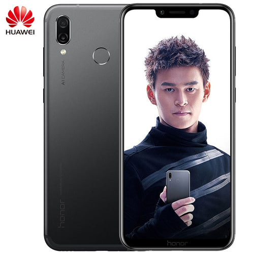 6.3 inch HUAWEI honor Play Kirin 970 Octa Core Android 8.1 Mobile Phone 4GB/6GB RAM 64GB ROM 2340x1080 Quick Charger 9V/2A