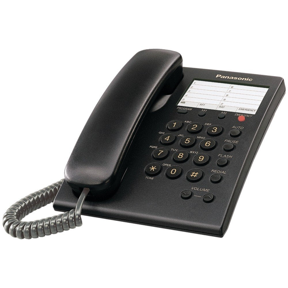 Panasonic KX-TS550B Integrated Corded Phone (