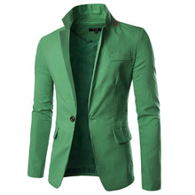 MarKyi 2017 new single button mens blazers new arrivals 2017 slim fit long sleeve suit blaser masculino male plus size 3xl