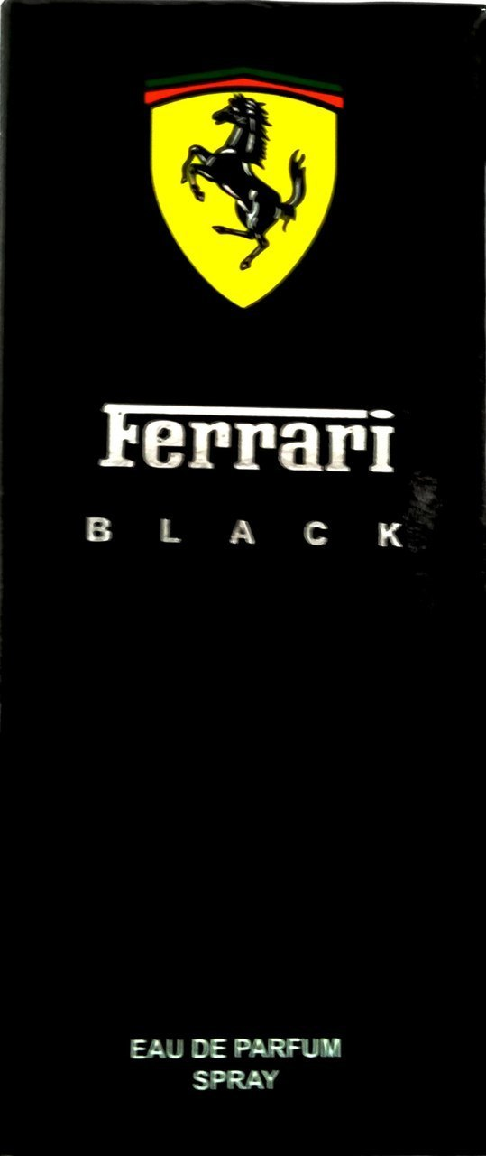 Ferrari BLACK Eau De Perfum Spray (100 ml)