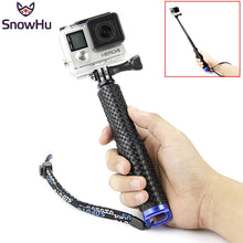 SnowHu High-grade selfie monopod Style Monopod tripod For gopro accessories selfie stick Small and light For xiaomi Yi Sjcam