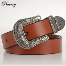 [PATEROY] Belt Belts For Women Cinto Jeans Luxury Cinta Ceinture Femme Cinturones Mujer Women Belt Cintos Para As Mulheres Punk