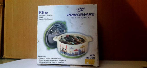 Princeware Fine Homeware Insulated Casserole With Active Puf 7031