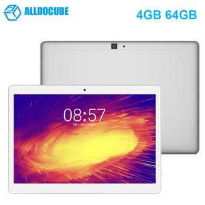 ALLDOCUBE M5 4G Phablet 10.1 inch Android 8.0 MTK X20 Deca Core 4GB 64GB Dual WiFi 5.0MP 2.0MP Double Cameras Bluetooth Tablet