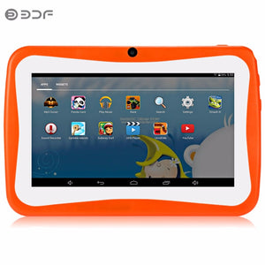 Android 4.4 Tablet 7 Inch Wifi Quad Core Tablets Pc Free Shipping Baby Tablets BDF Official Kids Tablet Repair Warranty