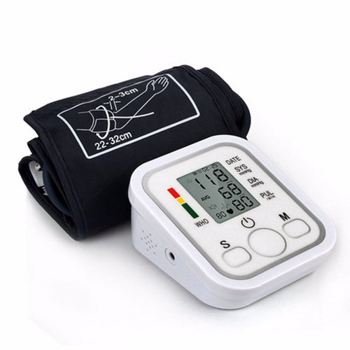 Arm Type Electric Voice Tonometer Meter Health Care 99 Memory Blood Pressure Monitor Pulse Oximeter Sphygmomanometer new