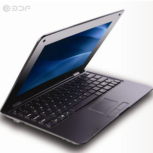 BDF 10.1 Inch Notebook laptop Computer HDMI Quad Core Android 5.0 HDMI Wi-fi Mini Netbook Bluetooth RJ45 Slot
