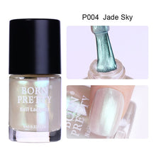 BORN PRETTY 9ml Transparent Shell Glitter Nail Polish Matte Nail Lacquer Varnish Holographic Nail Polish Nail Art Decoration