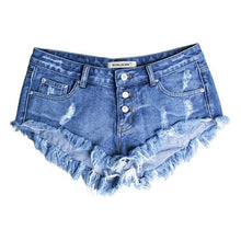 Boyfriend Style Hole Denim Shorts Tassel Blue Womens Low Waist Shorts 2018 Summer Sexy Plus Size Woman Jeans Girl Hot Shorts