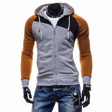 Brand 2018 Hoodies Men Sudaderas Hombre Hip Hop Mens Leisure Zipper Jacket Hoodies Sweatshirt Slim Fit Men Hoody XXL