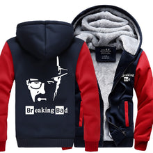 Breaking Bad Heisenberg hoodies Men Sweatshirt spring winter warm fleece thicken hip hop hoodie 2017 hipster high quality jacket