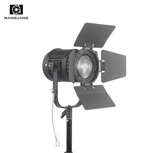 CN-60F 60W 5600K LED Fresnel Light Focusing and Dimming LED Studio Light + Colored Filter+Light Bag LED Video Studio Light
