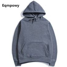 Casual Hoodies Men Eqmpowy 2017 Spring Mens Hoodies Sweatshirts Slim Fashion Male Hooded Jackets Men Coat Hoody XXL