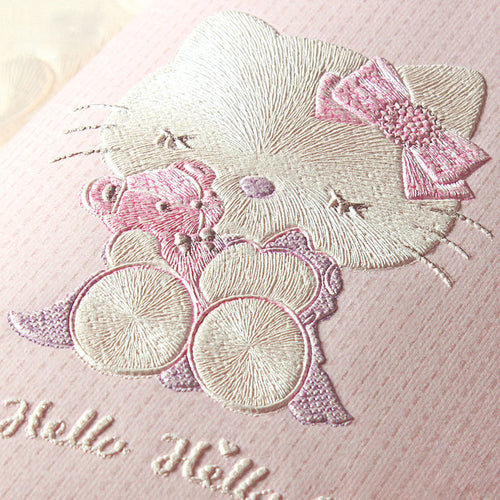 Children's Room Wallpaper For Walls 3 D Stereo Embossed Cartoon Cat Non-woven Wallpaper Cute Baby Room Girl Bedroom Wall Paper