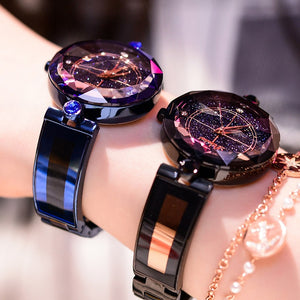 Dimini Fashion Luxury Ladies Crystal Watch Waterproof Rose Gold Steel Quartz Women Watches Top Brand Clock Relogio Feminino Saat