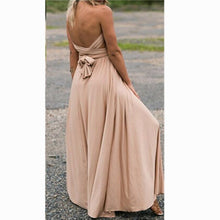 Dress Women Long Summer Convertible Bohemian Dresses Casual Bandage Evening Prom Club Party Infinity Multiway Maxi Dresses