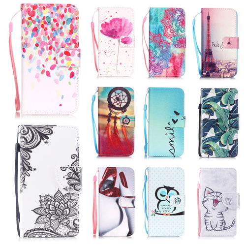EKONEDA Women Flip Case For iPhone 6S 7 Plus Case Wallet Cover PU Leather Stand For iPhone 7 Plus Case For iPhone 8 Plus X 1