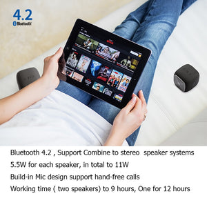 Edifier MP202 DUO Wireless Mini Stereo Portable Speaker Dustproof And Waterproof High Definition Bluetooth Speaker Long Lifetime