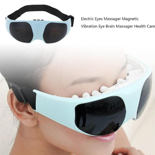 Electric Eye Massager Magnetic Vibration Massager Migraine DC Alleviate Fatigue Forehead Eye Care Massager Health Care